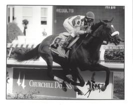 BARBARO 8X10 PHOTO HORSE RACING PICTURE JOCKEY EDGAR PRADO KENTUCKY DERB... - $3.95