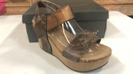 Pierre Dumas Hester-1 Brown Women's Platform Wedge Sandal 22608 Size 7.5 M - $39.59