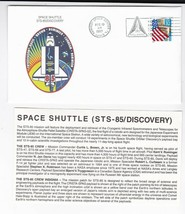 STS-85 DISCOVERY KENNEDY SPACE CENTER FL AUGUST 13 1997 WITH INSERT CARD - $1.78
