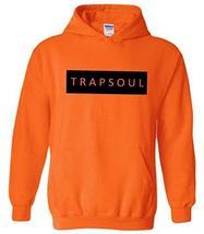 CC Bryson Tiller Trapsoul Hoodie Safety Orange (Black Print) - $29.99