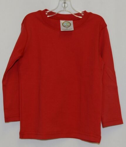 Blanks Boutique Boys Red Long Sleeve Cotton Shirt Size 2T