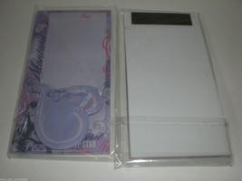 Hannah Montana Pop Star Disney Girl Purple Magnetic Memo Pad Heart Magne... - $12.16