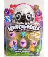 NEW HATCHIMALS COLLEGGTIBLES 4 PACK PLUS BONUS SEASON 2 GOLDEN HATCHIMAL... - $11.99