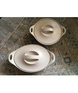Vintage 2000 Corning Ware CREATIONS KHAKI Stoneware Crock Pot & Roaster ... - $65.00