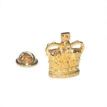 Regal Golden Crown Design  / tie pin,lapel pin, badge in gift box, cards,