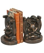 Bookends Bookend EQUESTRIAN Traditional Antique Fox in - $189.00