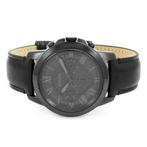 Mens Black Fossil Grant Chronograph Watch FS5132IE - £77.37 GBP