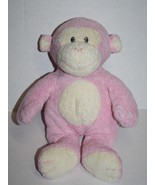 TY Pluffies Pink Baby DANGLES MONKEY 2006 Sewn Eyes Girls Love to Baby S... - $87.05