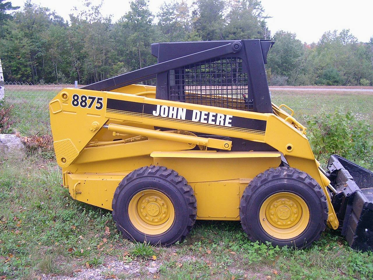 John Deere 8875 Skid-Steer Loader Technical and 41 similar items. Jd8875 2