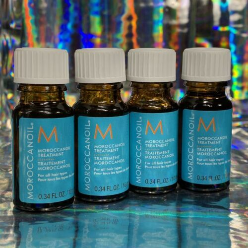 4x 10mL MoroccanOil treatment Moroccan Oil NEW AND FRESH 40mL Total
