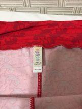 LulaRoe Tall & Curvy TC Leggings Valentine Red  Cupid Design  Nwot image 4