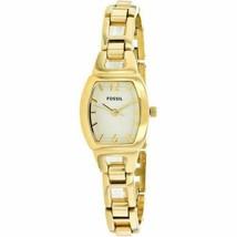 Fossil Women's Isobel Three Hand Stainless Steel Gold Tone Watch BQ1067 - $98.01