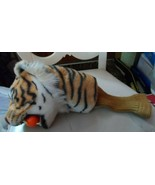 Vintage Tiger Golf Headcover with golf ball in mouth - $45.00