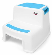 2 Step Stool for Kids Blue 1 Pack | Toddler Stool for Toilet Potty Train... - $28.01