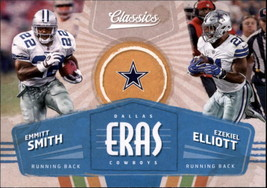 2018 Panini Classics Football Eras Insert Singles (Pick Your Cards) - $1.95+