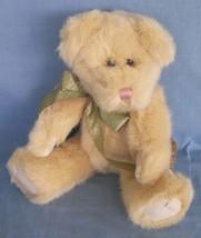 """Boyds Kookie Snicklefritz Plush Baby Bear Soft Furry Yellow 10"""" NWT 51770-12 - $8.79"""