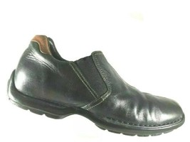 Cole Haan Mens Driving Loafers Size 10 M Zeno Black Split Toe Casual Sho... - $39.37
