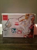 Mikasa Colored Rocking Horse Silver New In Box - $29.69