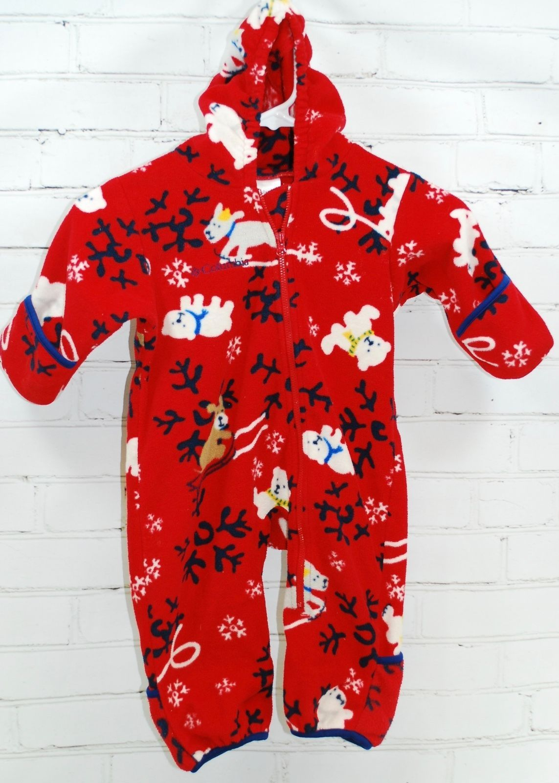 78f2c2d60d21 Columbia Baby Toddler Fleece Bunting Zip Up and 12 similar items