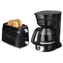 KitchenSmith 12cup Coffee maker and 2- Slice Toaster Bundle by Bella - New - $36.88