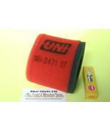 SUZUKI 96-06 LT 80 Quad Sport  Air filter & Spark Plug    For Stock Air Box - $29.79