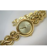 "L49, SEIKO, Ladies Dress Wristwatch, 6.5"" Gold Tone Linked Bracelet, 2N2337 - $39.79"