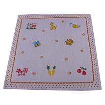 Set of 5 Comfortable Children's Cotton Bibs Baby Handkerchief Sweat Wash Towel