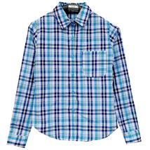 Men's grid Shirts Men Plaid shirt Grid Camisa Masculina Chemise homme La... - $29.85