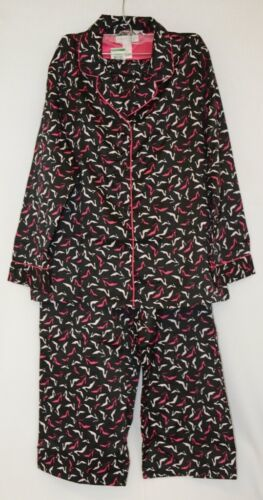 Morgan Taylor Intimates Adult Large Pajamas Fun Shoes