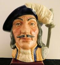 "Royal Doulton Character Jug ""Athos"" D6827- Colorway - Var. 3 - $189.99"
