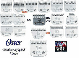 Oster Cryogen-X A5 Detachable Blade Fit A6,Andis Ag Bg,Many Wahl,Moser Clippers - $31.30+