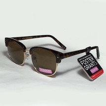Foster Grant Women Brown Sunglasses with Gold Frame Elements NWT - $9.65