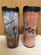 JAPAN  Starbucks Tumbler Yokohama & Ibaraki Set Bland New - $49.30