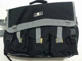 Diaper Bag for Dads Men's Messenger Bag Black - $28.04