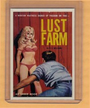 Lust Farm by JX Williams promo card book mark GGA pulp fiction sleaze - $2.69