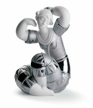 Lladro Porcelain 01007112 YOUNG INDIAN I (RE-DECO) Retired Brand New in Box - $632.20