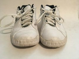 Converse All-Star Womens White Leather Athletic Running Walking Shoes sz 5 image 6
