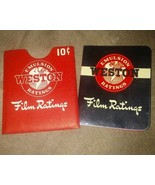 1941 Weston emulsion ratings film ratings - $4.95