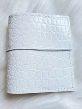 White Planner Croco Planner Pocket Size Chunky 30mm Ring 6 Planner Organ... - $30.00