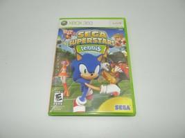 Sega Superstars Tennis Xbox 360 Sonic The Hedgehog - $9.41