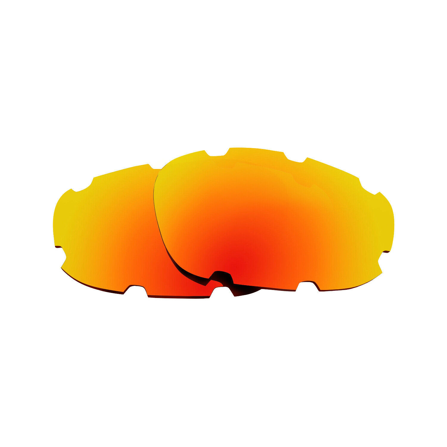 Primary image for Polarized Replacement Lenses for Oakley Split Jacket Sunglasses Anti-Scratch Red