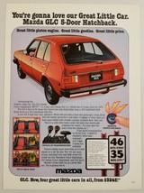 1978 Print Ad The Mazda GLC 5-Door Hatchback Car 4-Door - $11.68