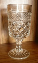 Anchor Hocking Wexford Clear Glass Stemware 10 oz. Water Goblet - $4.94