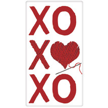 XOXOXO  Decorative Kitchen Flour Sack Towel- by Mary Lake Thompson - $8.90