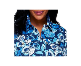 Liz Claiborne New York Floral Print Jacket with Pockets, WOMEN'S SIZE 16... - $36.00