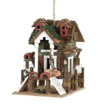 #10015476 *Wood Fishing Pier Bird House* - £17.98 GBP
