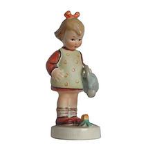 "Hummel #74 Little Gardener 4.25"" Vintage Figure Early TMK-3 Oval Base - $53.95"