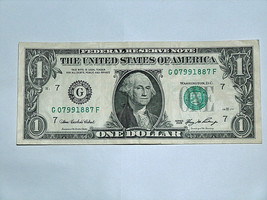 2006 $1 Bill US Note Shoeless Joe Jackson Birthday Year 0799 1887 Fancy ... - $14.83