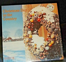 Christmas Day in the Country Record AA20-7313 Vintage