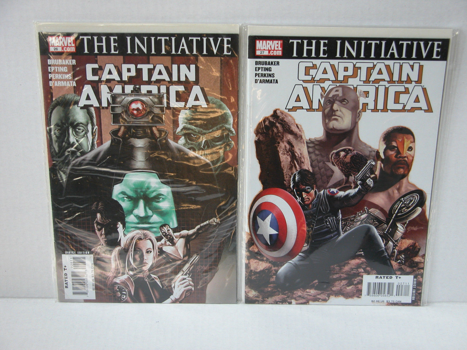 CAPTAIN AMERICA - #25 - DEATH OF...+  #22,23,24,26,27  - FREE SHIPPING!